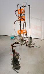 Johannes Büttner, Untitled (Cement Battery) et Untitled (Keshe Magrav), 2018 - Crash test à La Panacée, Montpellier