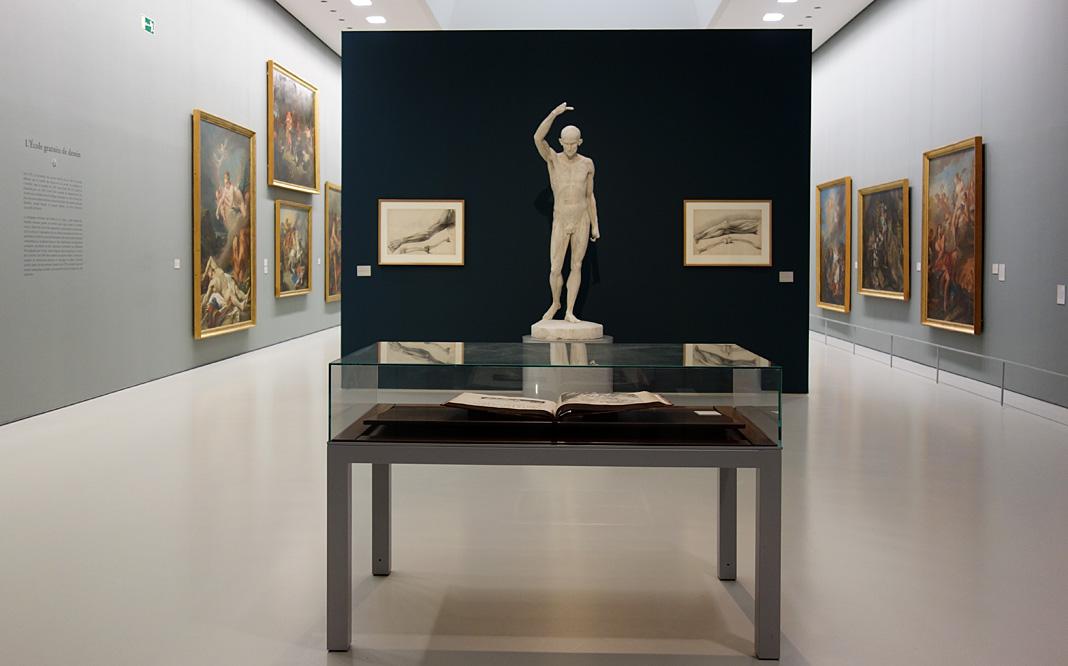 Le Musée avant le Musée au Musée Fabre - L'École de dessin de Montpellier 02