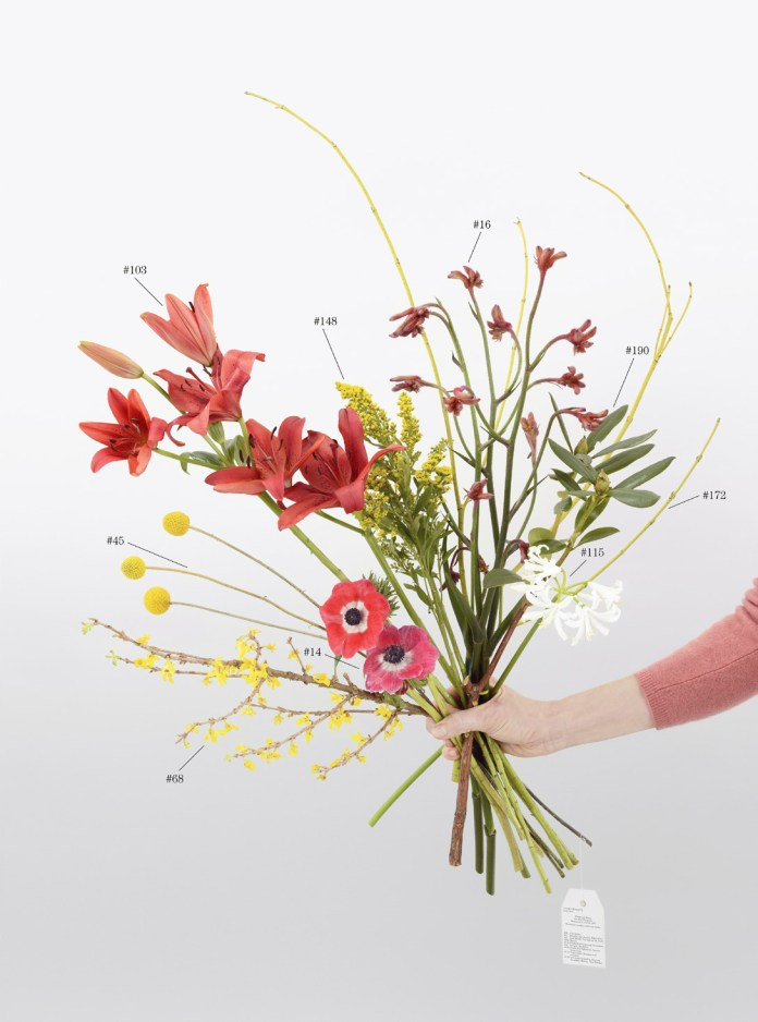 Natalie Czech, A Critic's Bouquet by Peter Scott for Fischli Weiss, 2015, Archival Pigment Print, 2 parts, 107 x 79,4 cm and Offset 33 x 15,6 cm