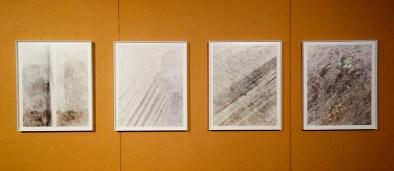 Pascal Fayeton, Mue, 1994 - Vue de l'exposition «4 à 4» au Musée Paul Valéry - Sète