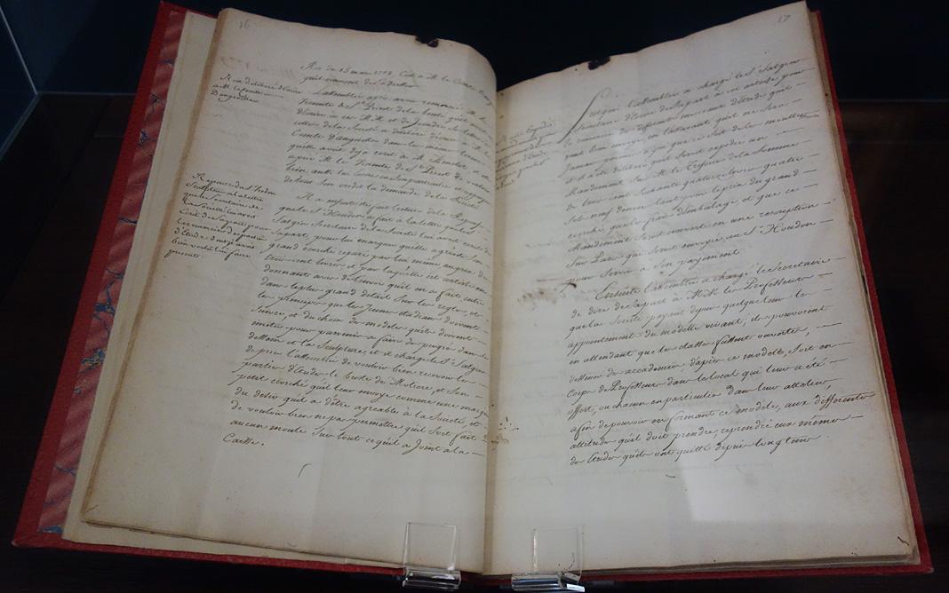 Status et reglements de la Société des beaux-arts de Montpellier, 1779 - Le Musée avant le Musée au Musée Fabre
