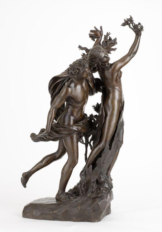 Gianlorenzo Bernini dit Le Bernin (d'après), Apollon et Daphné, vers 1700-1710, bronze, 836.4.86, Montpellier, musée Fabre ©Musée Fabre Montpellier Méditerranée Métropole, photo Frédéric Jaulmes