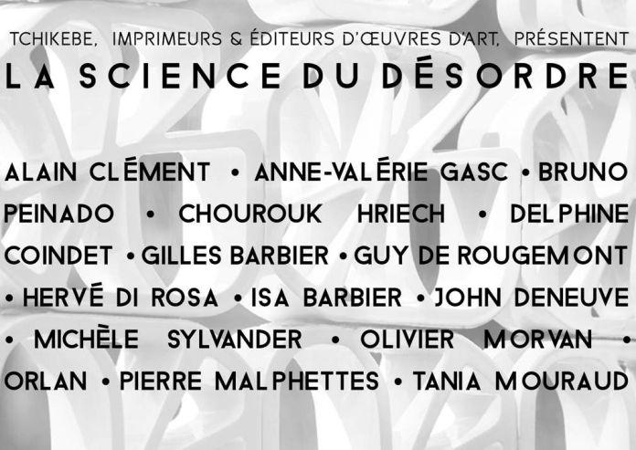 La science du désordre – l'atelier Tchikebe chez A+Art à Montpellier