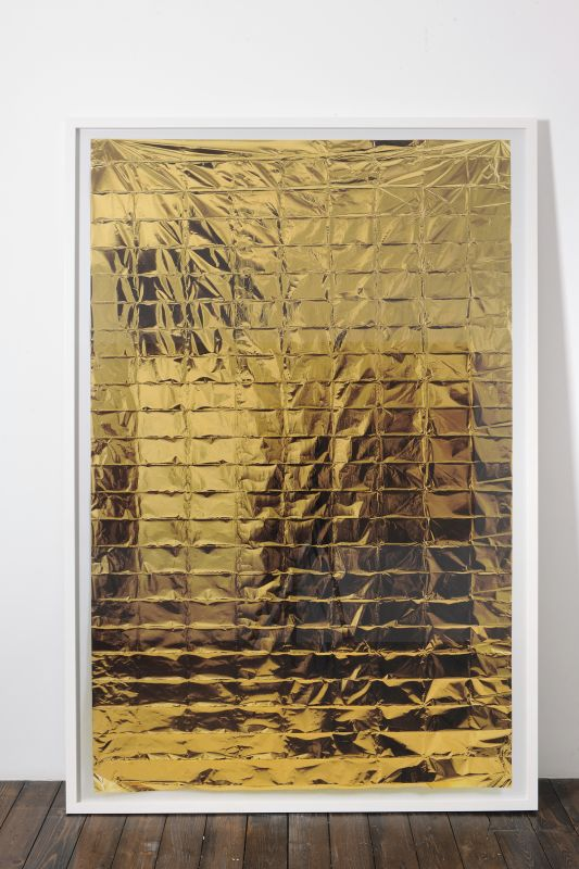 Évariste Richer, South Face / North Face (détail), 2010. Panneaux de 231 × 156 cm. © Courtesy de l'artiste. Photo : Philippe De Gobert / ADAGP, Paris 2018