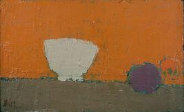 Nicolas de Staël, Bol Blanc, 1953, huile sur toile, 32,3 x 54,6 cm, Cincinnati Art Museum, Bequest of Mary E. Johnston, 1967. 1108 © Adagp, Paris, 2018, photo : © Cincinnati Art Museum