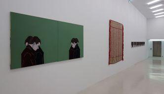 Djamel Tatah à la Collection Lambert - Vue de l'exposition, salle 4