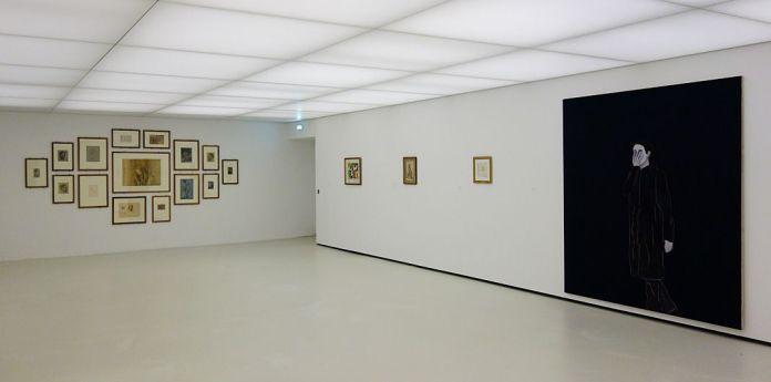 Djamel Tatah à la Collection Lambert - Vue de l'exposition, salle 9