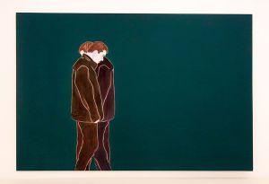 Djamel Tatah, Sans titre, 2016 - Collection Lambert - Vue de l'exposition, salle 8