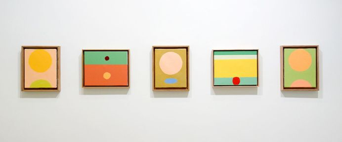 Etel Adnan - Soleil Chaud, soleil tardif à la Fondation Vincent van Gogh Arles