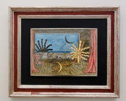 Giorgio De Chirico, Lune et Soleil , 1972 - Soleil Chaud, soleil tardif à la Fondation Vincent van Gogh Arles