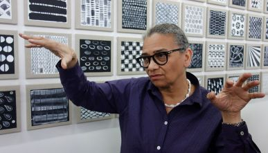 Lubaina Himid, Cotton.com, 2002 - Gifts to Kings - MRAC 2018