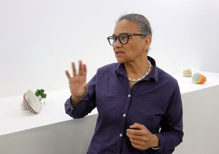 Lubaina Himid, Jelly Mould Pavilion - Gifts to Kings - MRAC 2018