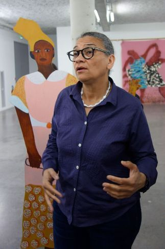 Lubaina Himid, Naming the Money, 2004 - Gifts to Kings - MRAC 2018