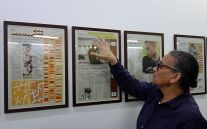 Lubaina Himid, Negatives Positives ; The Guardian Series, 2007-2016 - Gifts to Kings - MRAC 2018