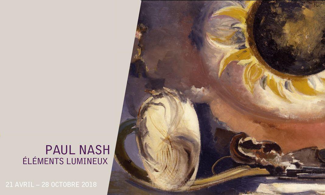 Paul Nash - Éléments lumineux à la Fondation Vincent van Gogh Arles