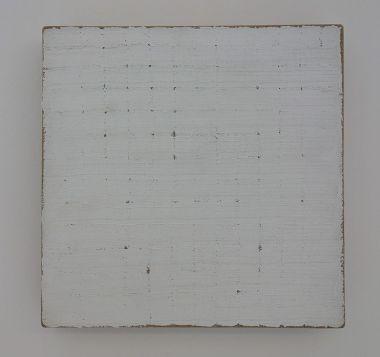 Robert Ryman, Untitled, 1965 - Djamel Tatah à la Collection Lambert - Vue de l'exposition, salle 6