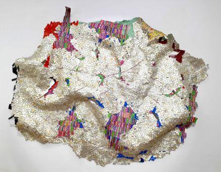 El Anatsui,, Disclosures, -Anatsui © Galerie RX, Paris.