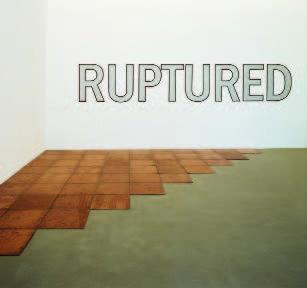 Carl Andre, Tenth Cooper Corner, Bern, 1975 et Lawrence Weiner, Ruptured, 1972