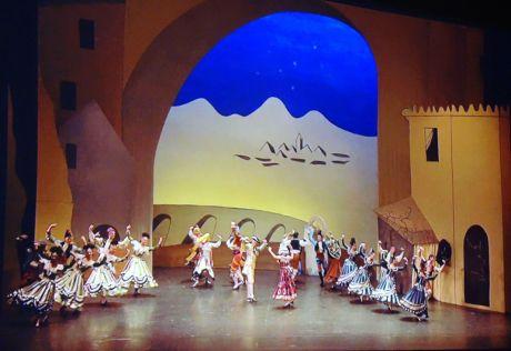 Extraits du Tricorne à l'Opéra national de Paris – Palais Garnier en 2009 - Picasso et les Ballets russes, entre Italie et Espagne au Mucem