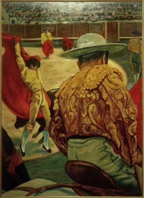 Francis Picabia, Le matador dans l'arène, 1941 Huile sur carton, 105 x 76 cm Genève, Musée du Petit Palais © ADAGP, Paris 2018