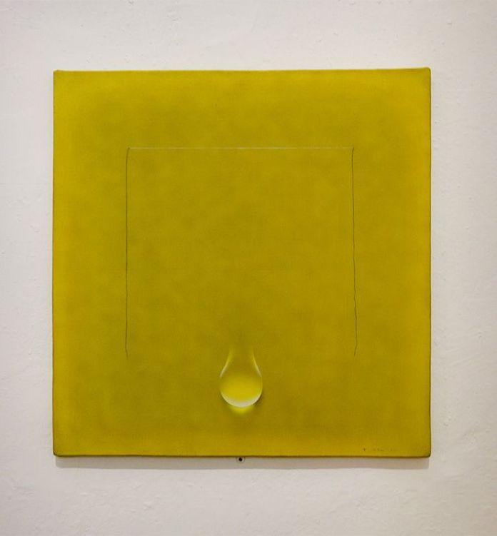 Kim Tschang-Yeul , Phénoménologies3, 1971 - L'Événement de la nuit à la chapelle du Méjan – Arles -Vue de l'exposition à l'étage