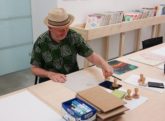 Bob and Roberta Smith - «Activist» à La Panacée - Atelier