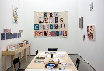 Bob and Roberta Smith - «Activist» à La Panacée - atelier_1