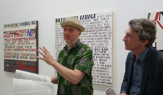 Bob and Roberta Smith et Nicolas Bourriaud - «Activist» à La Panacée