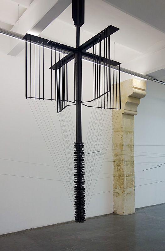 Jennifer Caubet, Coordonnées en projection III - X.Y.Z, 2018 - FRAC Occitanie Montpellier