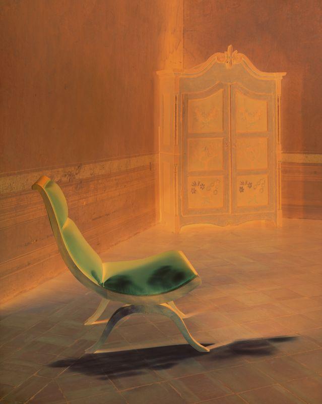 Le fauteuil de Balthus, série Les Clairs-Obscurs, 2016, collection de l'artiste © Véronique Ellena, 2018