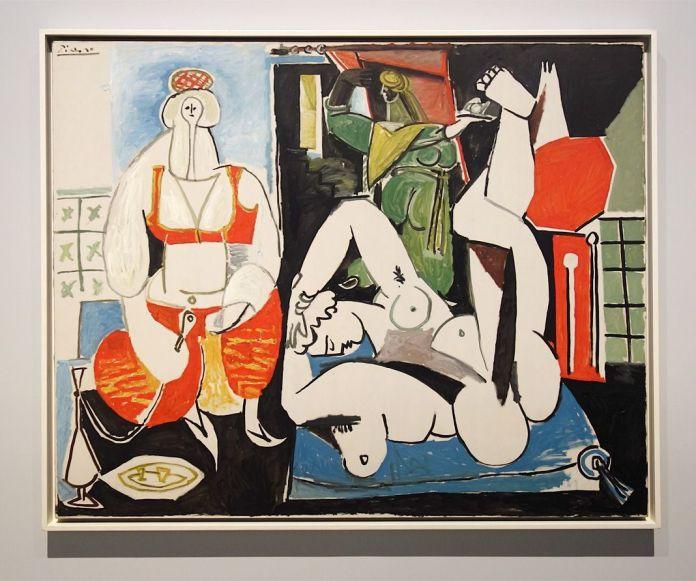 Pablo Picasso, Femmes d'Alger d'après Delacroix (version H), 24 janvier 1955 - Picasso - Donner à voir au Musée Fabre
