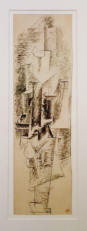 Pablo Picasso, Guitariste, [Céret-Paris], 1911 - Picasso - Donner à voir au Musée Fabre