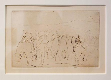 Pablo Picasso, L'Abreuvoir, Série des Saltimbanques, Paris, printemps 1906 - Picasso - Donner à voir au Musée Fabre