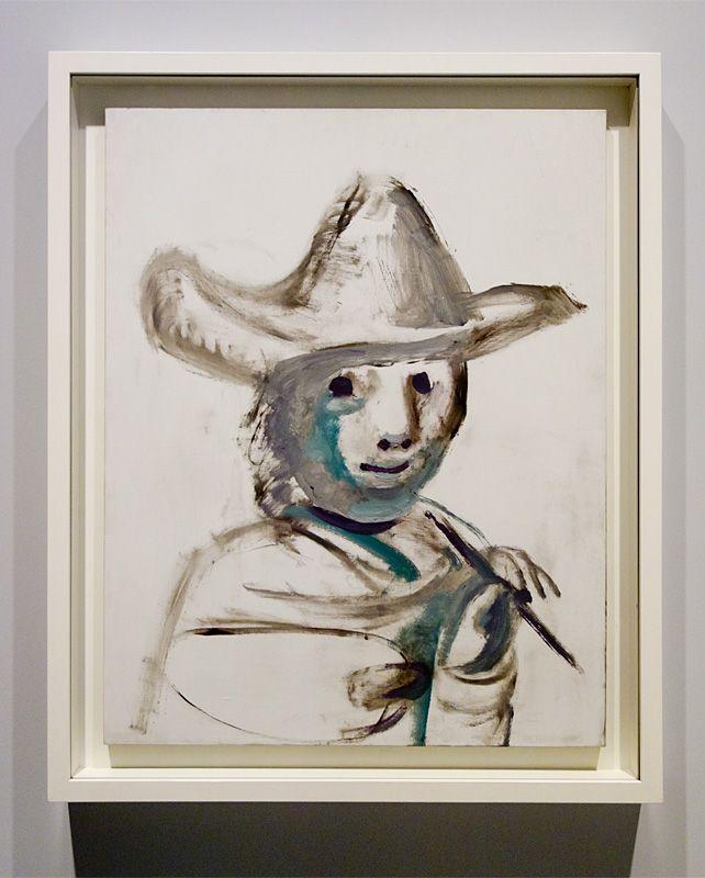Pablo Picasso, Le Jeune Peintre, Mougins, 14 avril 1972 - Picasso - Donner à voir au Musée Fabre