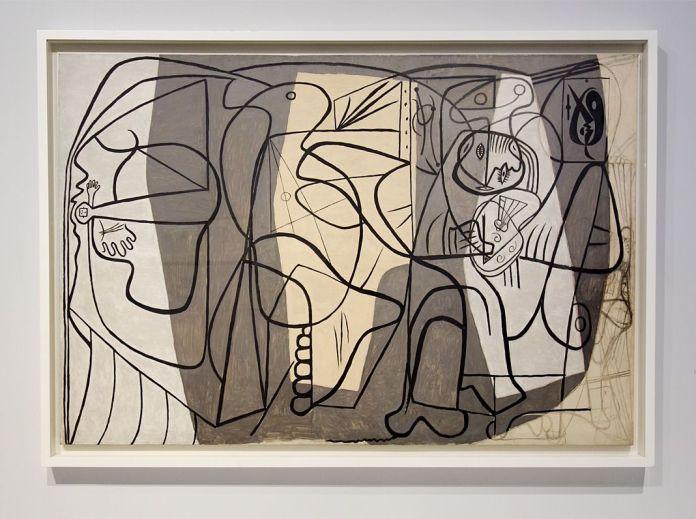 Pablo Picasso, Le Peintre et son modèle, [Paris], 1926 - Picasso - Donner à voir au Musée Fabre