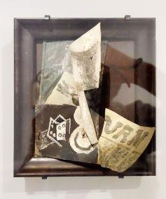 Pablo Picasso, Verre, journal et dé, Paris, printemps 1914 - Picasso - Donner à voir au Musée Fabre