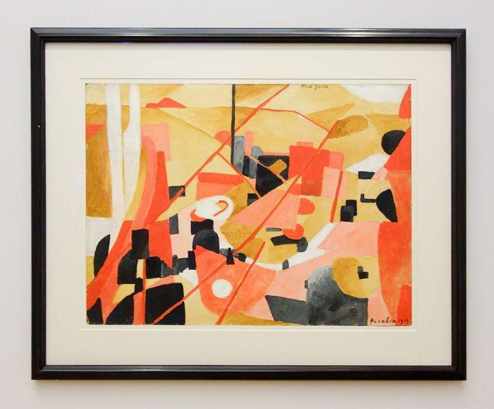 Picabia, New York, 1913 - Exposition Picasso Picabia – La Peinture au défi au musée Granet - Cubismes (1907-1915)