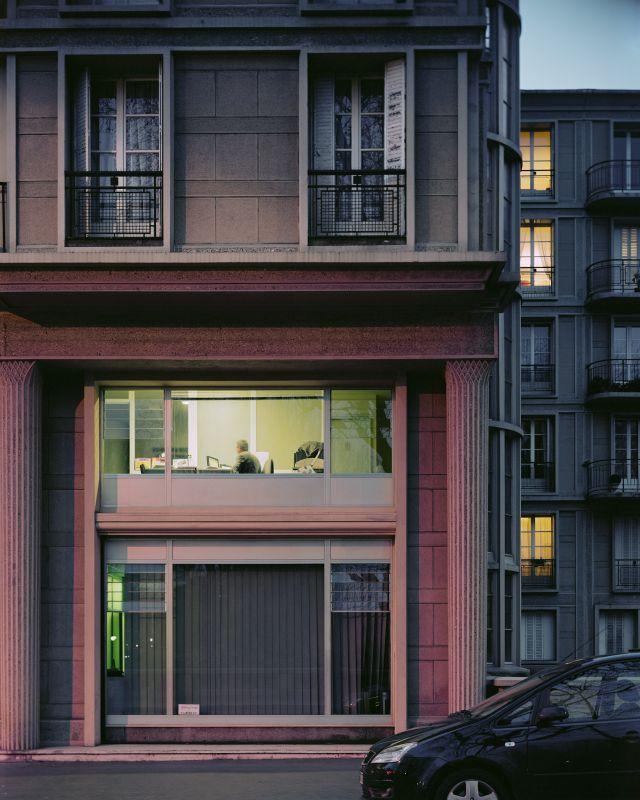Un angle de l'avenue Foch, série Le Havre, 2007, collection du Musée d'art moderne André Malraux, Le Havre, inv. 2007.3.1 © Véronique Ellena, 2018