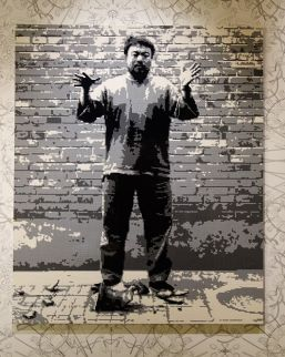 Ai Weiwei, Laisser tomber une urne de la dynastie Han, 2016 (détail) – Exposition Fan-Tan au Mucem