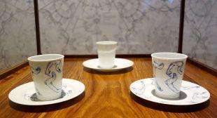 Ai Weiwei, Tasse et soucoupe avec motif, 2015 – Exposition Fan-Tan au Mucem