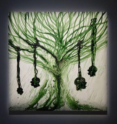 Barthélémy Toguo, Le pardon, la tolérance et la sagesse sont le langage des hommes forts, 2018 - Homo Planta à la Fondation Blachère, Apt