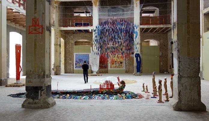 Dominique Zinkpè -Lettre ouverte à la Poste Colbert, Marseille