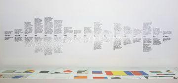 Ligne Forme Couleur - Ellsworth Kelly (1923-2015) dans les collections françaises à la Collection Lambert - Salle 08