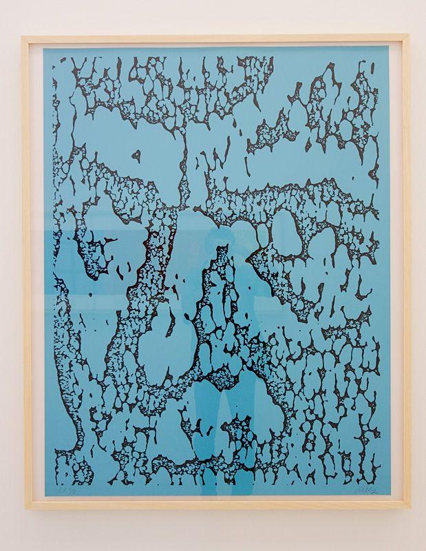 Ligne Forme Couleur - Ellsworth Kelly (1923-2015) dans les collections françaises à la Collection Lambert - Salle 10 - Bleu Jack, 1988