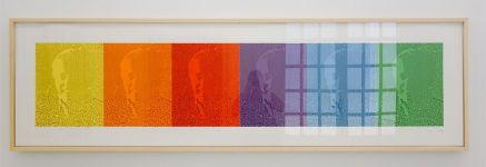 Ligne Forme Couleur - Ellsworth Kelly (1923-2015) dans les collections françaises à la Collection Lambert - Salle 10 - Gamme EK I, 1988