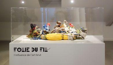 Pascal Tassini - Exposition Tissage - Tressage à la Villa Datris - Folie du fil