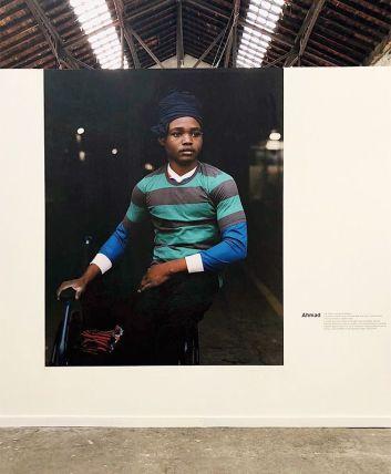 Amhad - Des sneakers comme Jay-Z - portraits et paroles d'exilés aux Rencontres Arles 2018