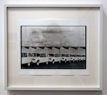 René Burri, Ami 6, Usine Citroen, Renne, 1962 - Les pyramides imaginaires aux Renconres Arles 2018