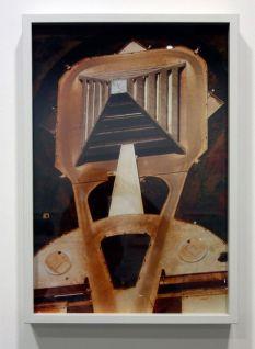René Burri, Bâtiment de la compagnie d'électricité vue du ciel, Brasilia, 1977 - Les pyramides imaginaires aux Renconres Arles 2018