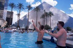 Rene Burri The pool of the Luxor Hotel. © Rene Burri - Magnum Photos